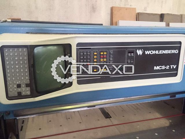 Wohlenberg MCS-2 TV Paper Cutting Machine
