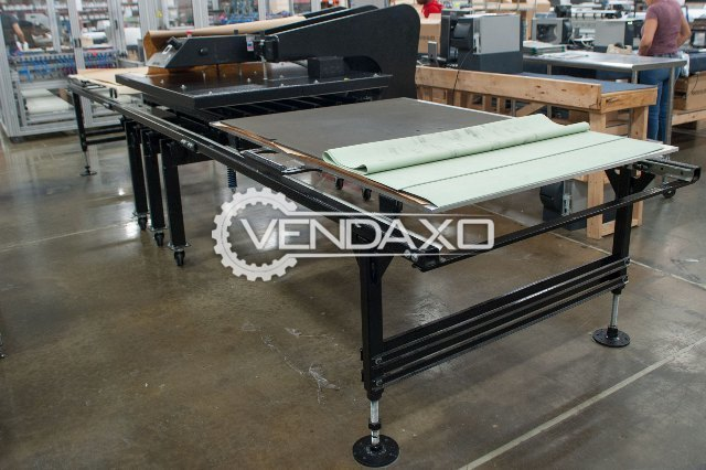 "Geoknight Maxi-Press Heat Press - Dual Shuttle 64""x 44"""