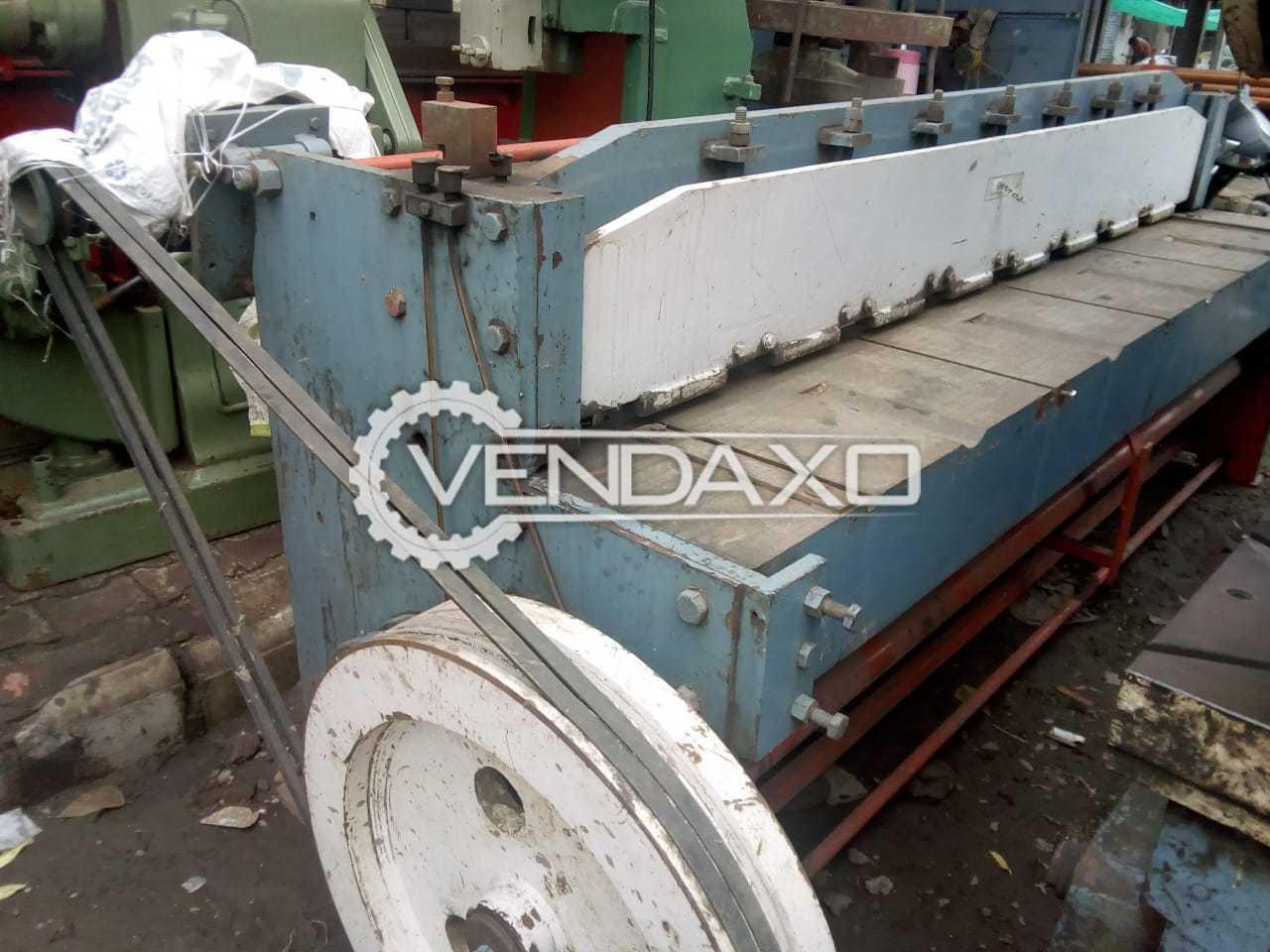 Welson Mechanical Shearing Machine - 3 MM