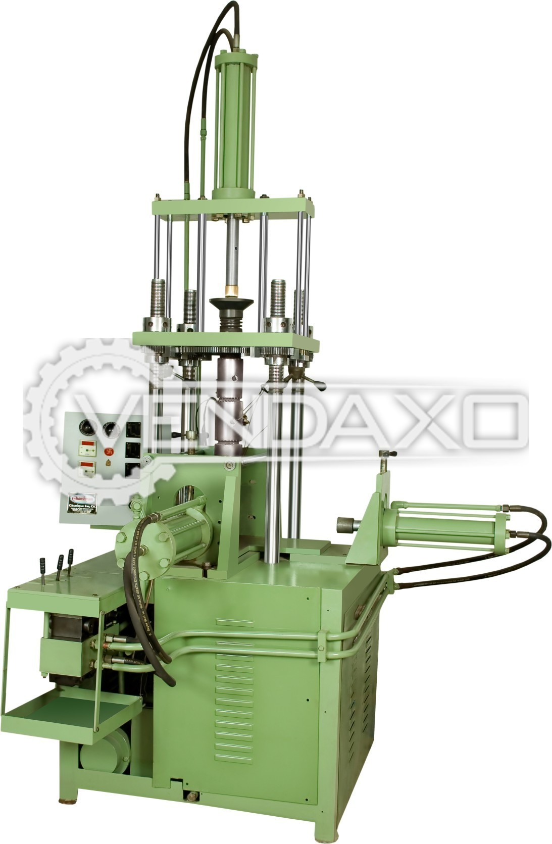 Vertical Plastic Moulding Machine