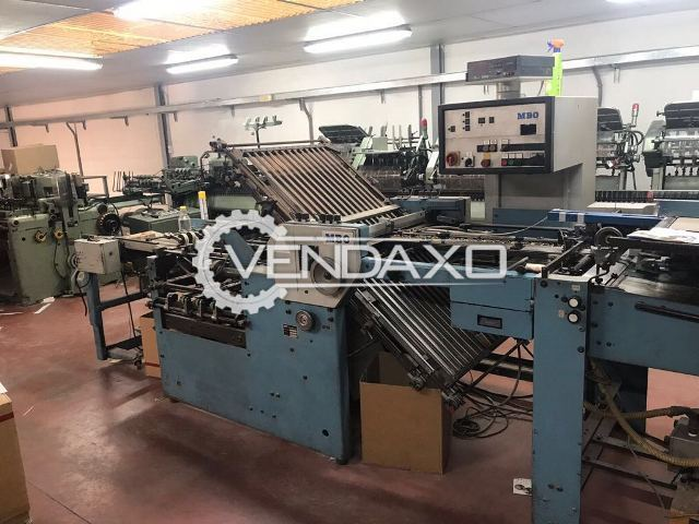 MBO K74-4KTL Folding Machine