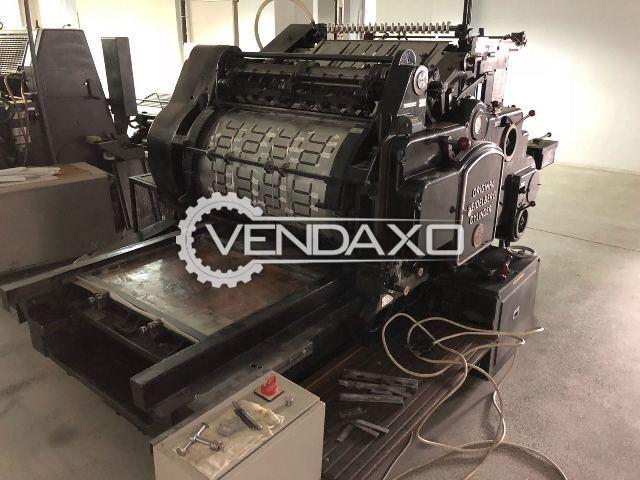 HEIDELBERG S Series Cylinder Die Cutter Machine