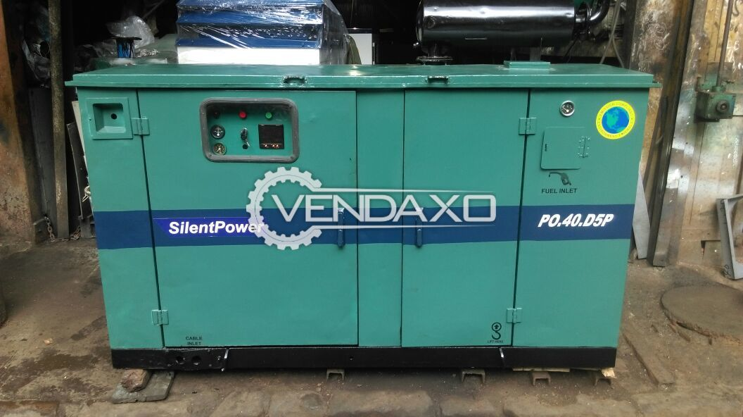 Cummins Silent Diesel Generator - 40 KVA