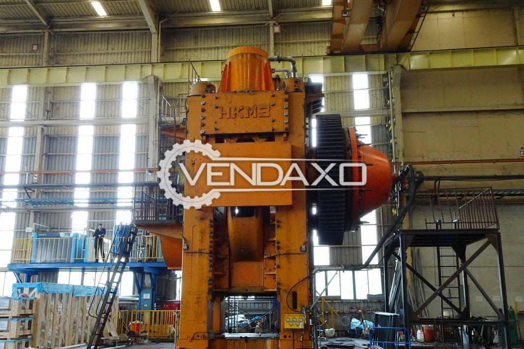 Kramatorsk Forging Press Machine - 6300 Ton