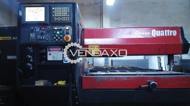 Amada Quattro AP100AS Laser Cutting Machine