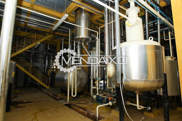 Harburg Freudenberger Edible Sunflower Oil Refining Plant with Filling Facility used only for 8 months