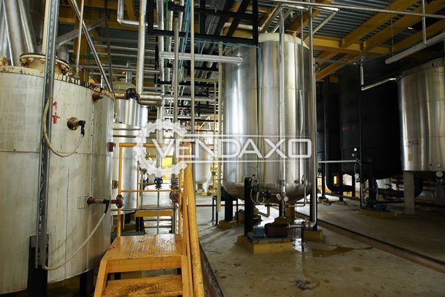 Harburg freudenberger edible sunflower oil refining plant with filling facility 2