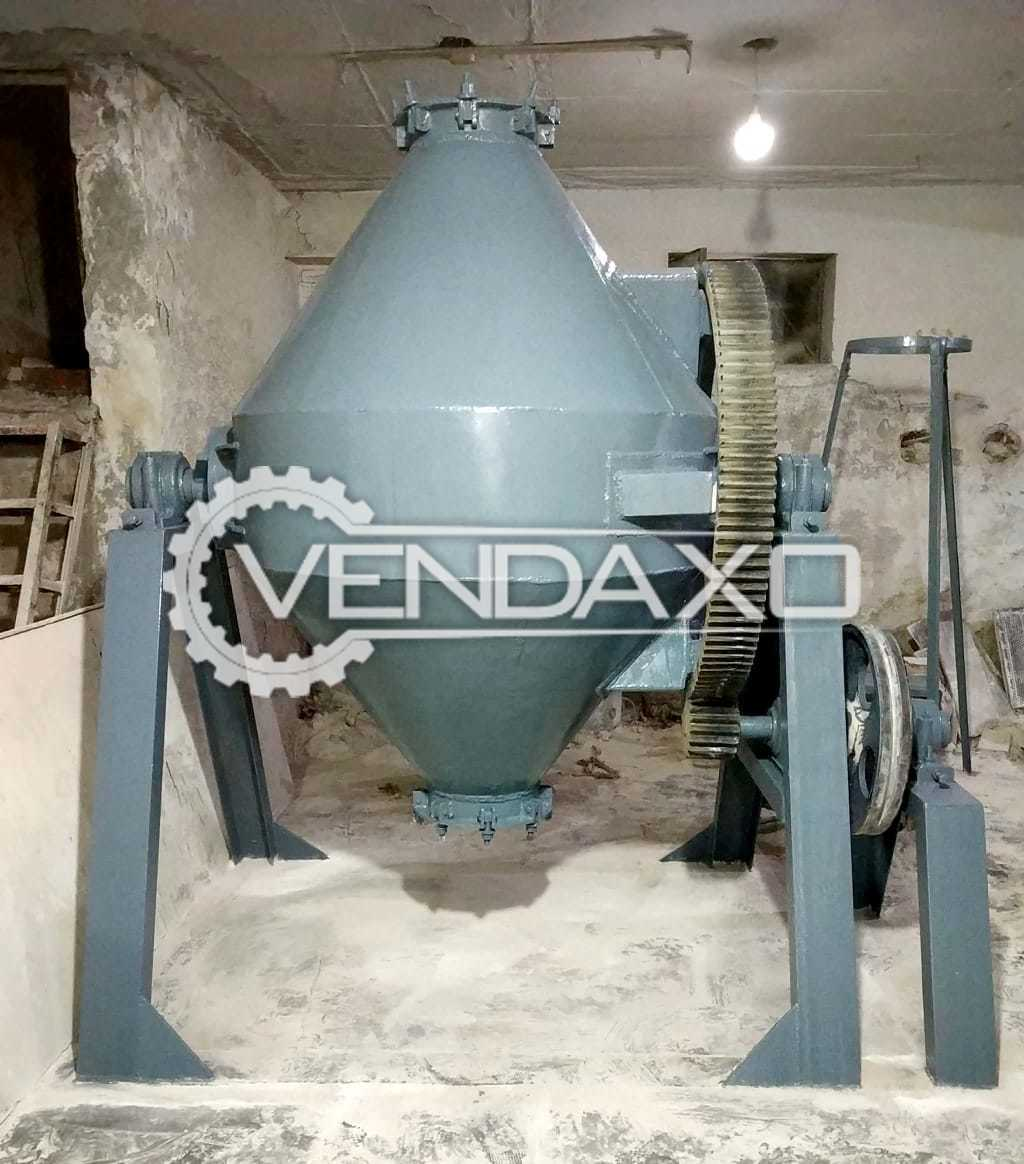 SMECO Double Cone Blender Machine