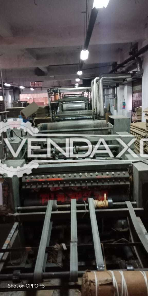 "High Speed Corrugation Machine 57"" Semi-Automatic 3 ply"