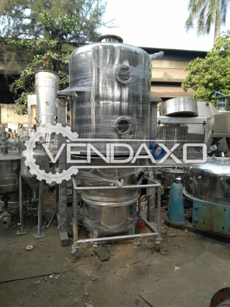 Fluid Bed Dryer - FBD - 120 Kg