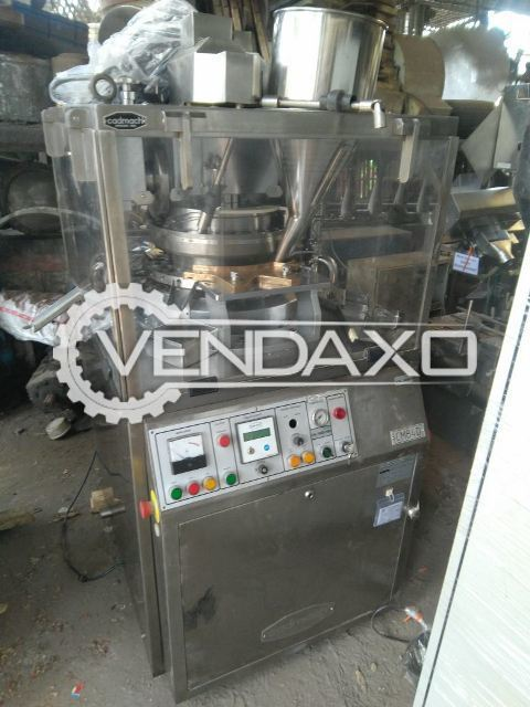 Cadmach 27 Station D Tooling Tablet Machine