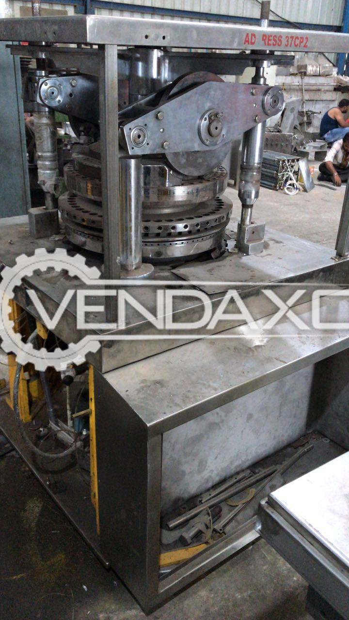 Cadmach 45 station B Tooling Tablet Machine