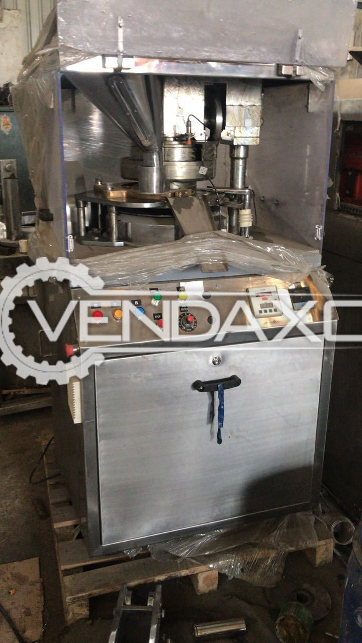 Cadmach 16 Station Tooling Tablet Machine