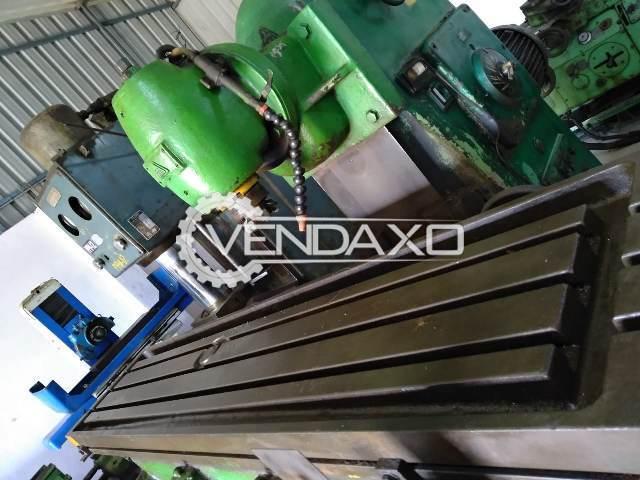 TOS Miling Machine - 2000 x 400 mm