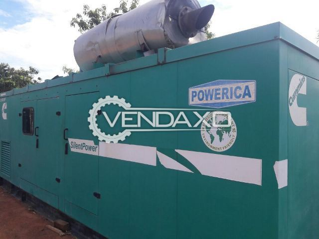 CUMMINS CP 500 D5P Diesel Generator - 500 KVA