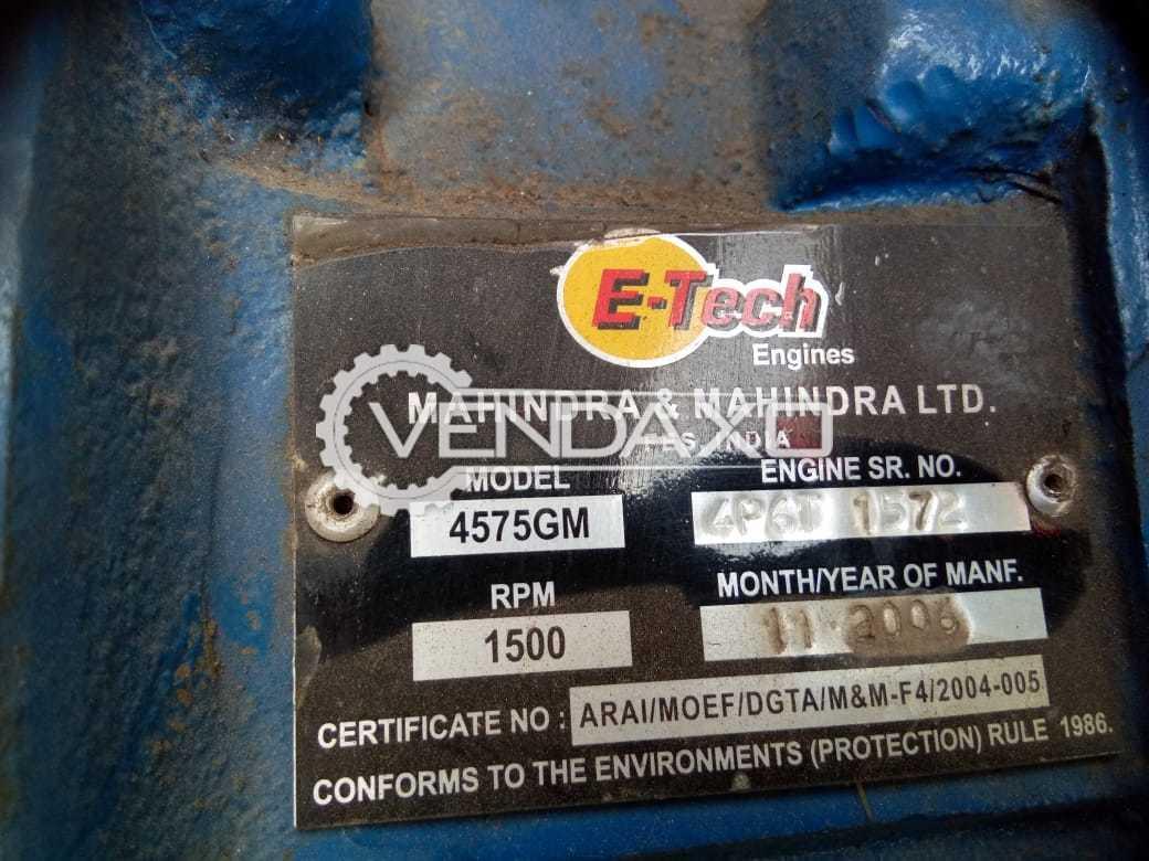 Mahindra & Mahindra 4575 GM Diesel Generator - 40 Kva
