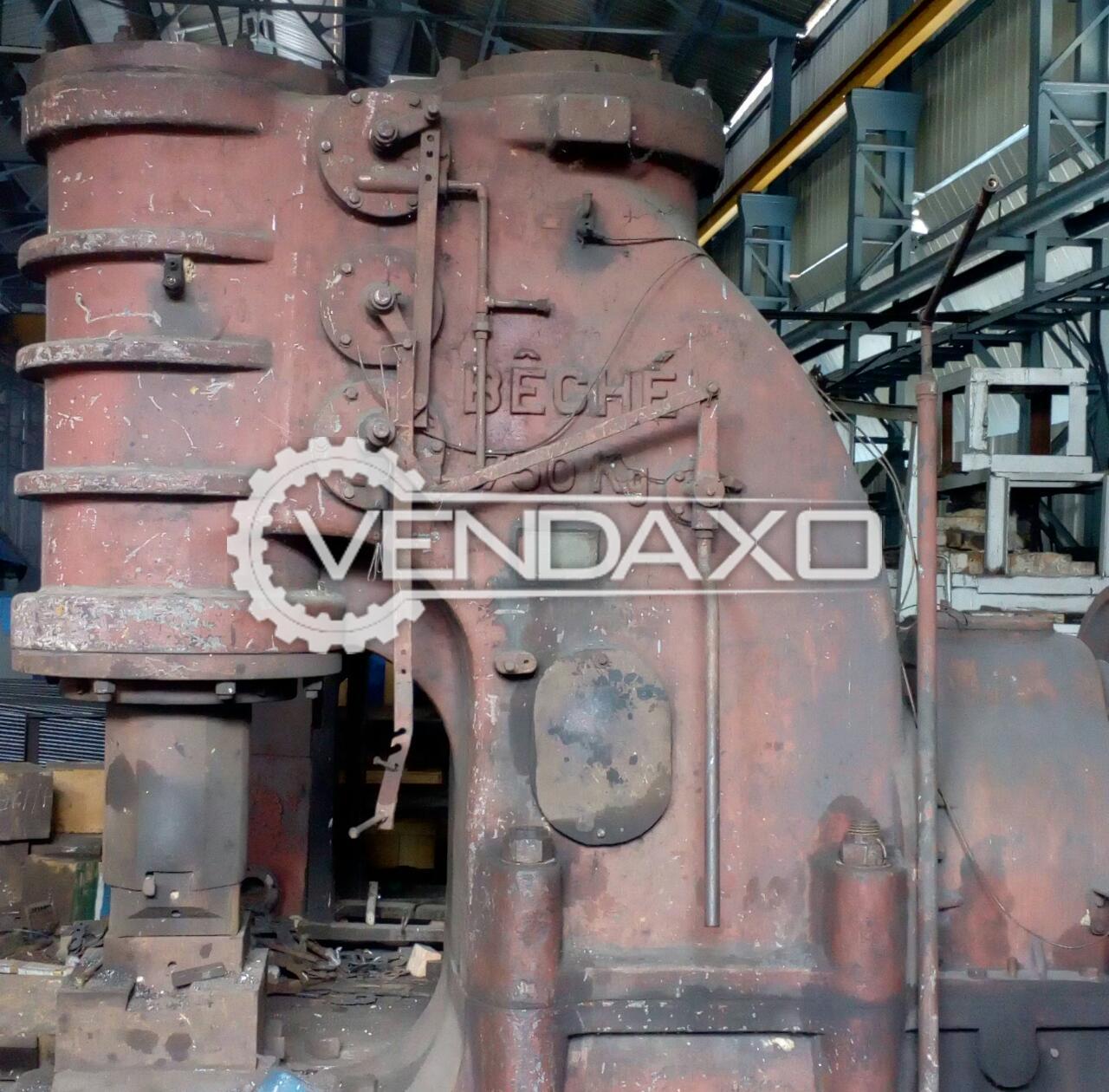 Beche Pnumatic Forging Hammer - 750 Kg