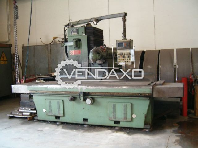 FIAS Berico Bed Milling Machine - 3000 X 800 mm