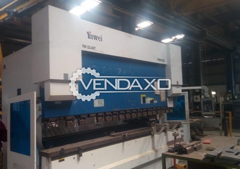 YAWEI  PBH 220 4100 4C CNC Press Brake With Accessory