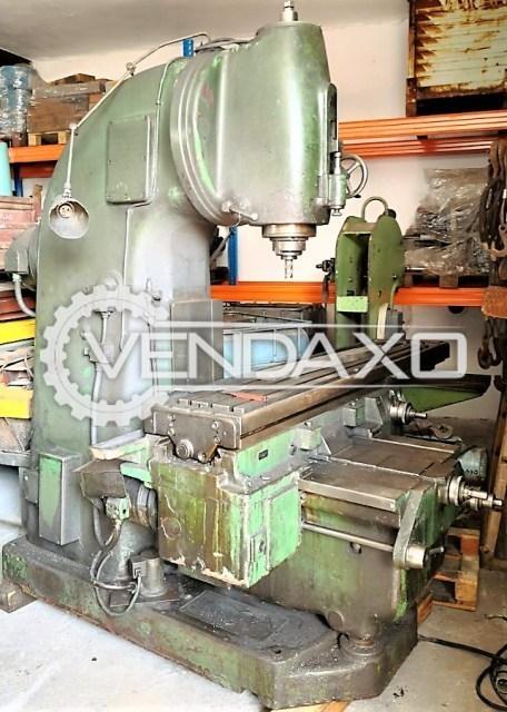 TOS FAV5 Vertical Milling Machine
