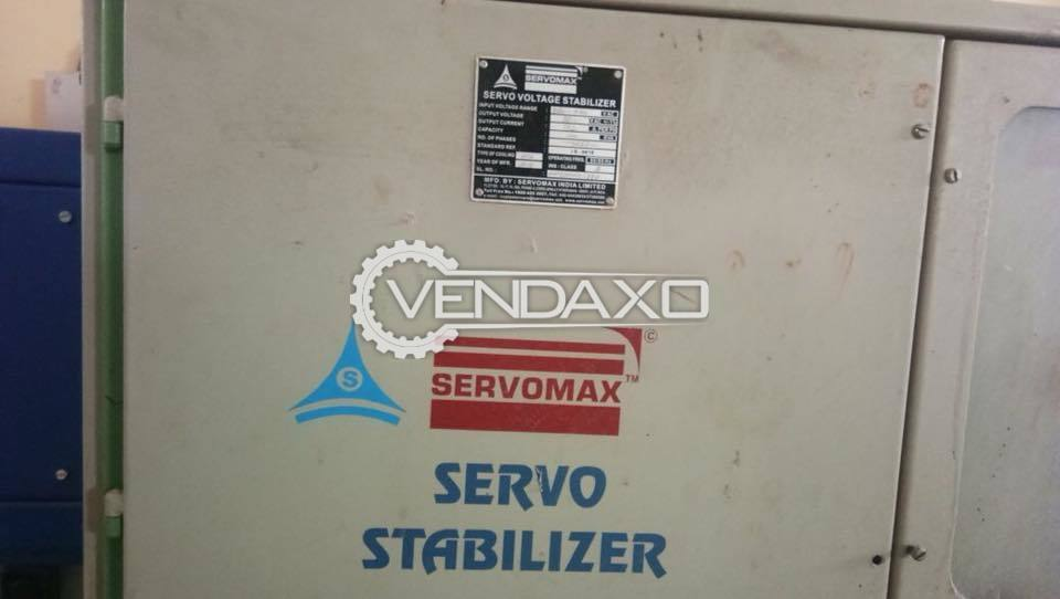 ServoMax Stabilizers - 100 Kva