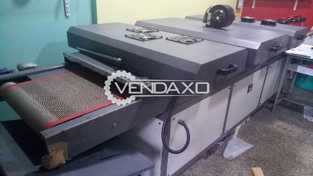 UV Dryer Machine With IR and Hot Air Machine