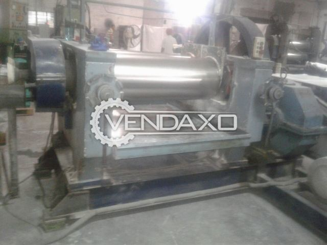 Shyaan Mixing Mill 16 x 42 Inch With 40 Hp Motor