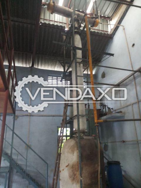SS 304 Distillation Unit