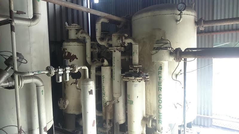 Oxygen Generating Plant - 60 Nm3/hr