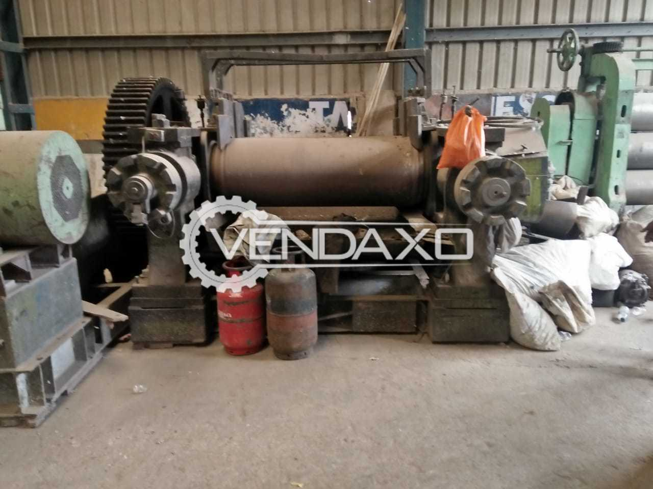Mixing Mill 22 x 60 Inch With 125 Hp Motor