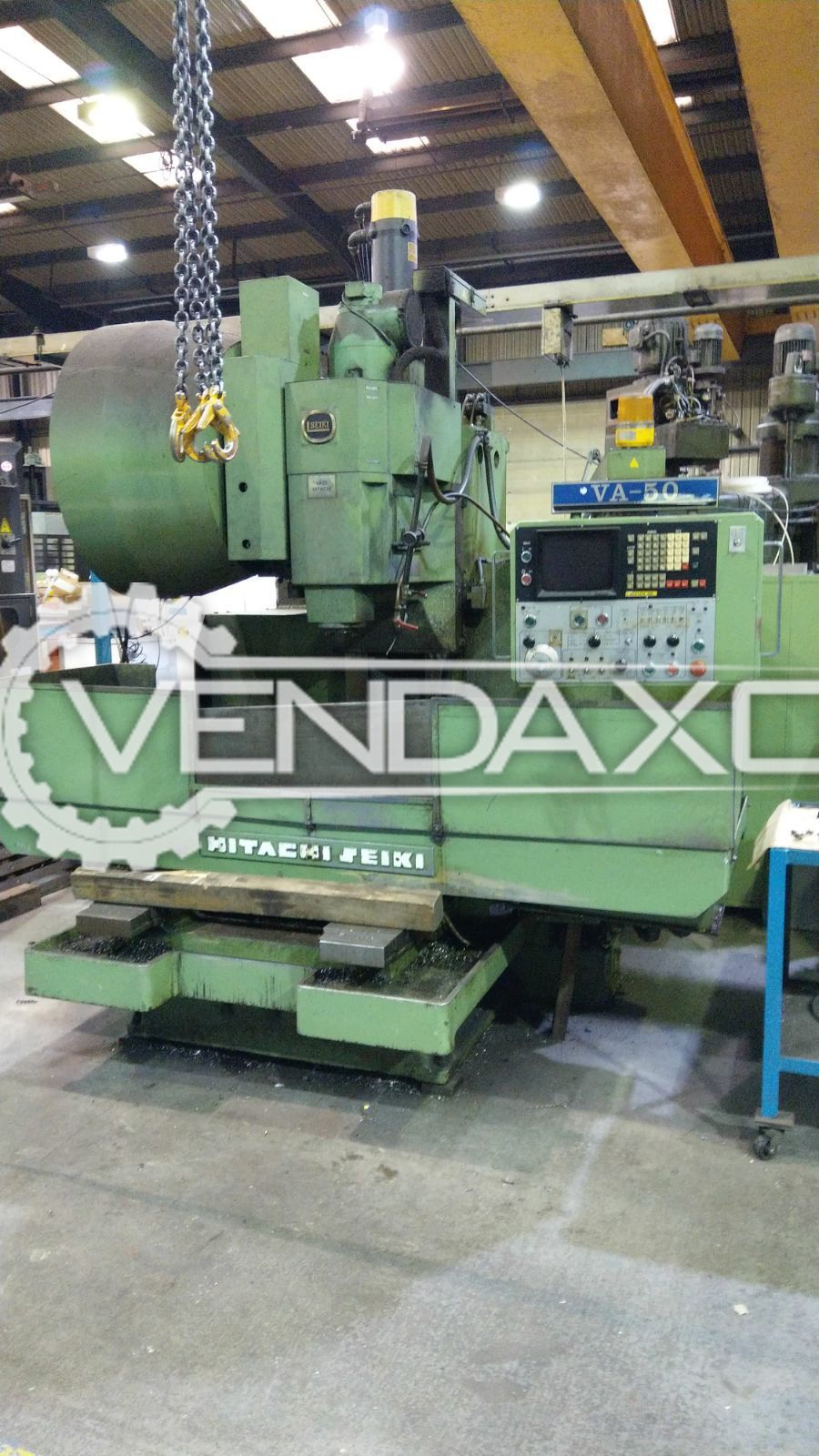 Hitachi Seiki VA50 CNC Vertical Machining Center