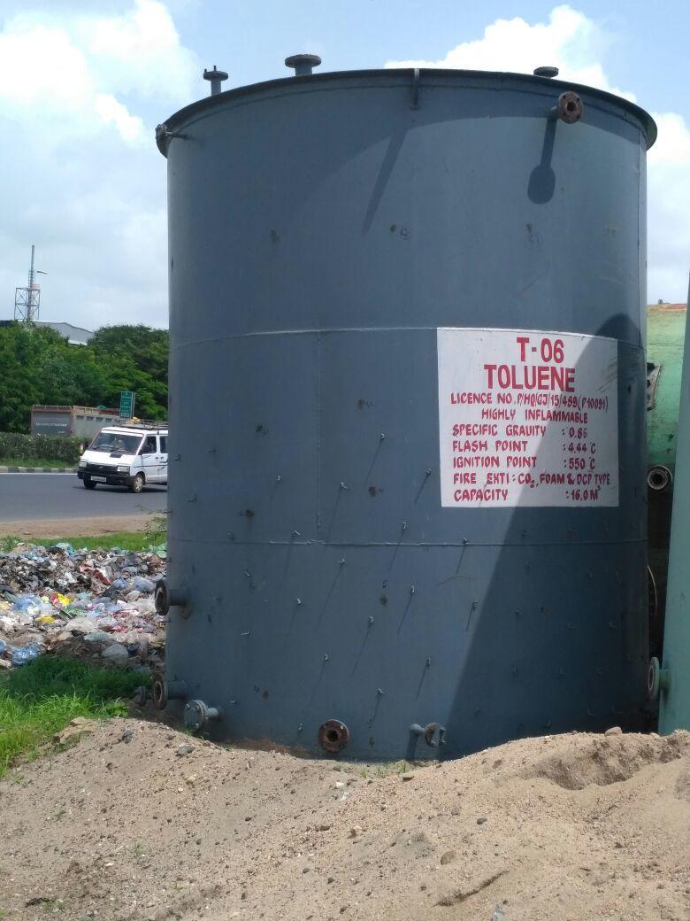 Storage tank 16 m3 1