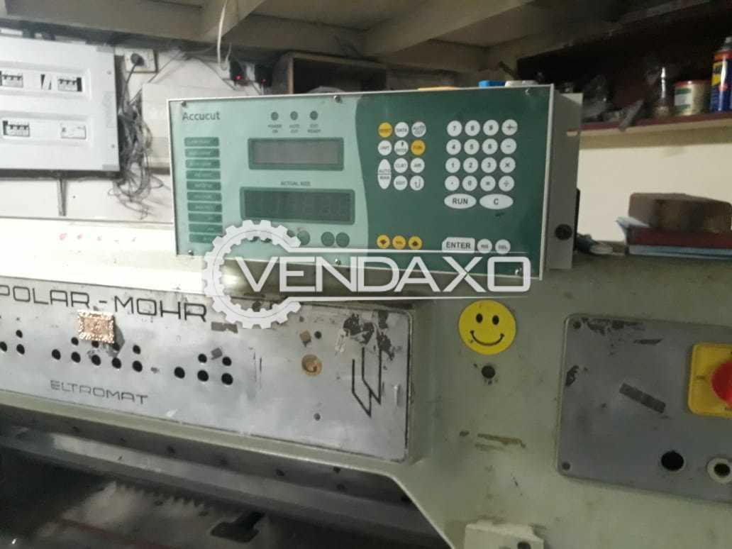 POLAR MOHR Paper Cutting Machine - 36 Inch