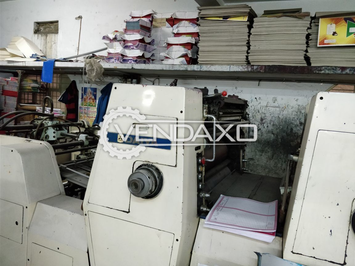 Mitsubishi Printing Machine - 22  x 32 Inch , 2 Color