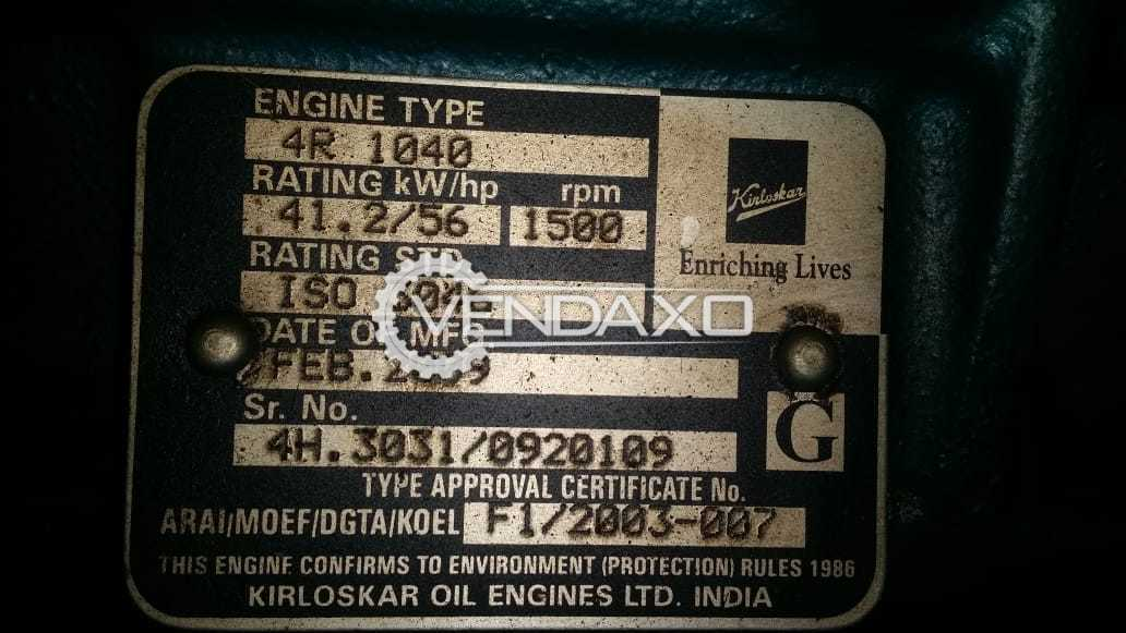Kirloskar Diesel Generator - 40 Kva