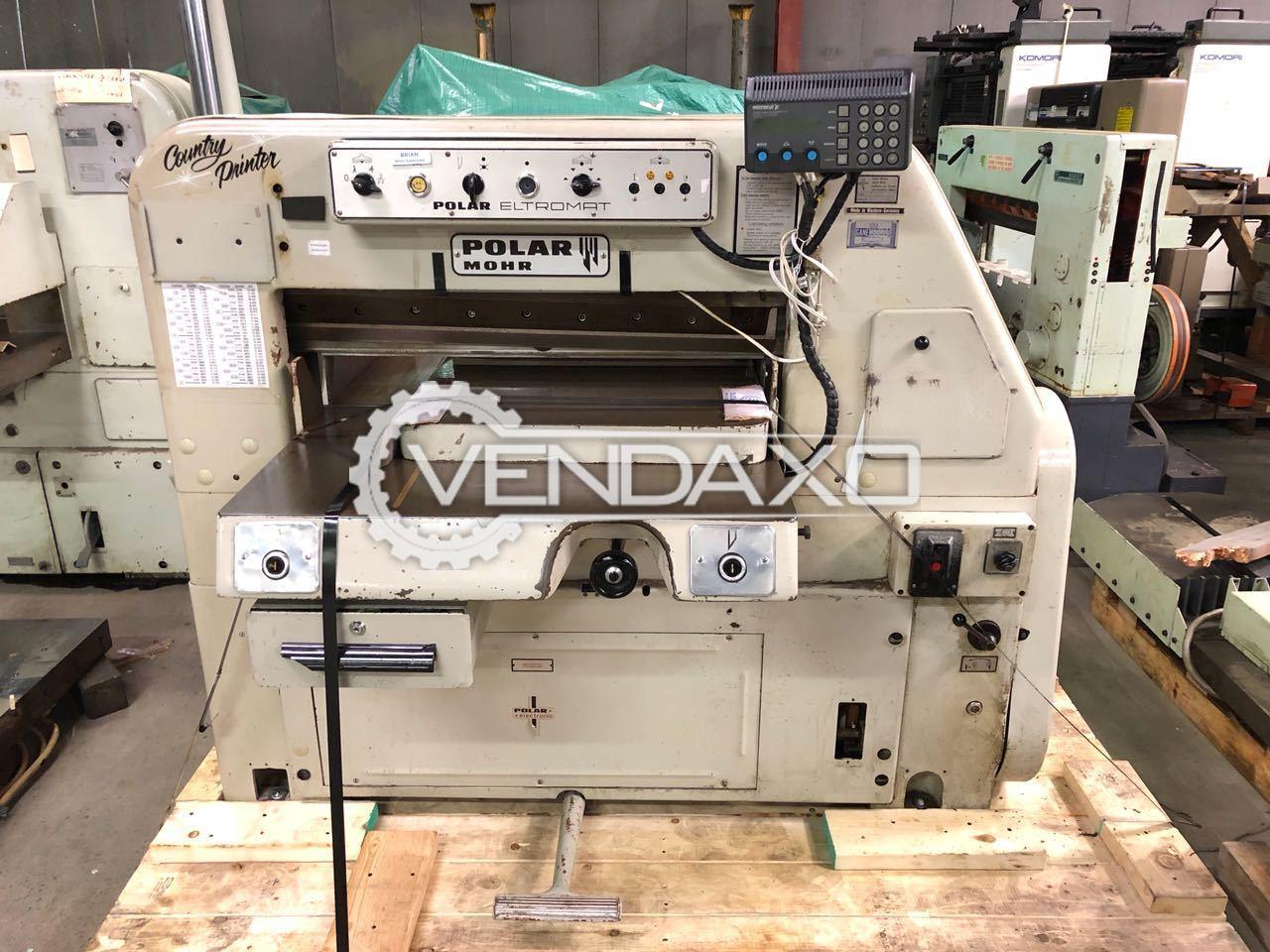 POLAR MOHR 82 Paper Cutting Machine - 32 Inch