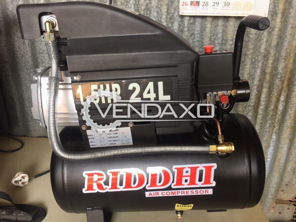 RIDDHI Air Compressor - 1.5 HP , 24 Liter