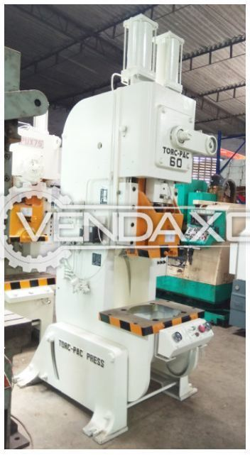 Used AMADA TP-60X \'C\' Frame Press - 60 Ton | Second Hand Presses for ...