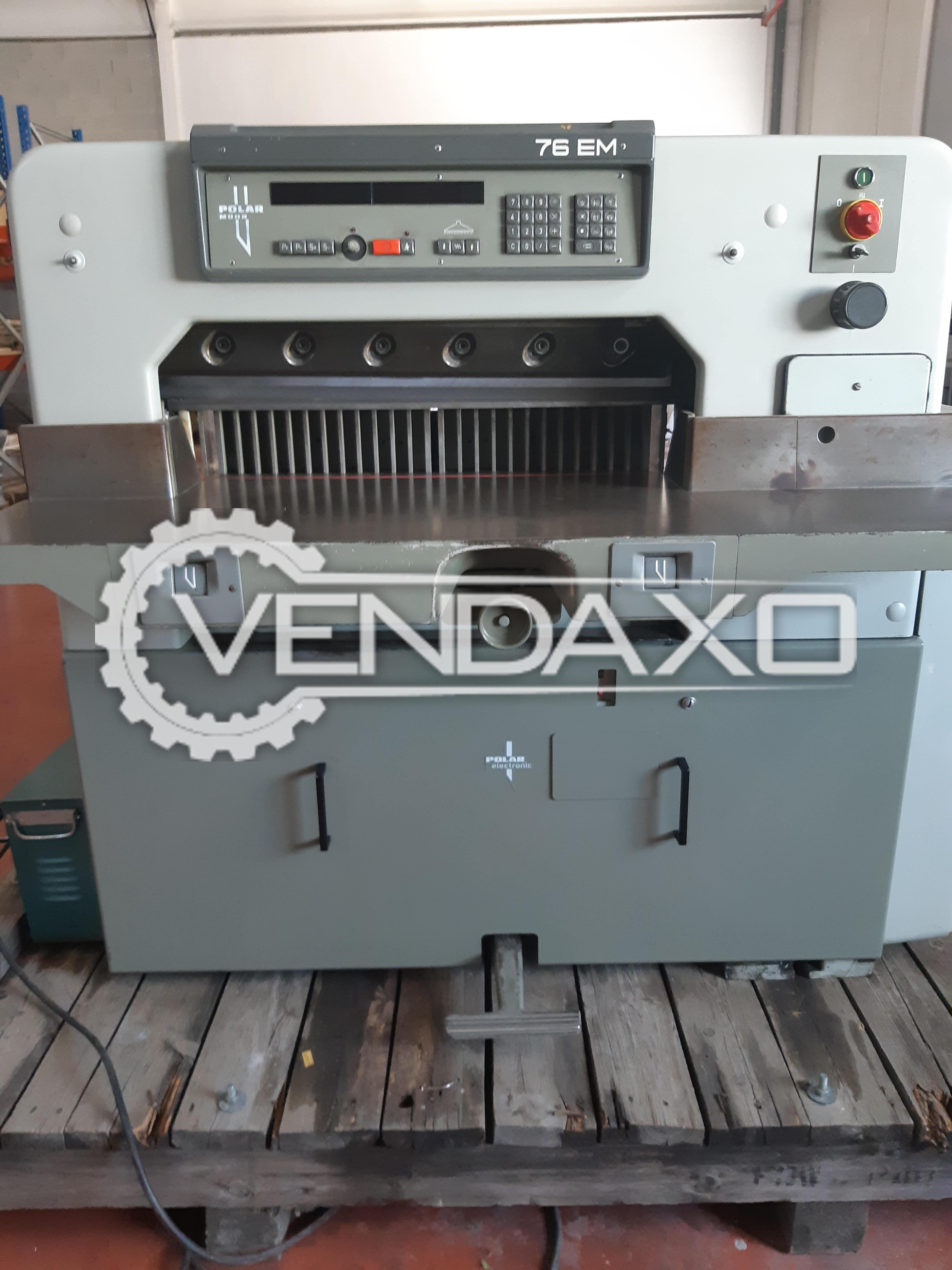 POLAR 76 EM Paper Cutting Machine