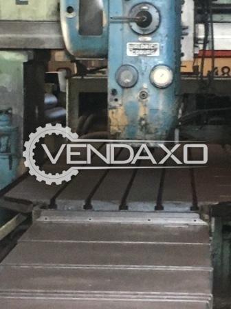 PANSOTI Plano Miller Machine - 1000 X 4000 mm