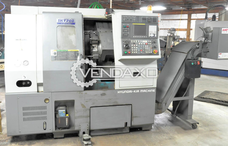 HYUNDAI KIA SKT200 CNC Turning Center
