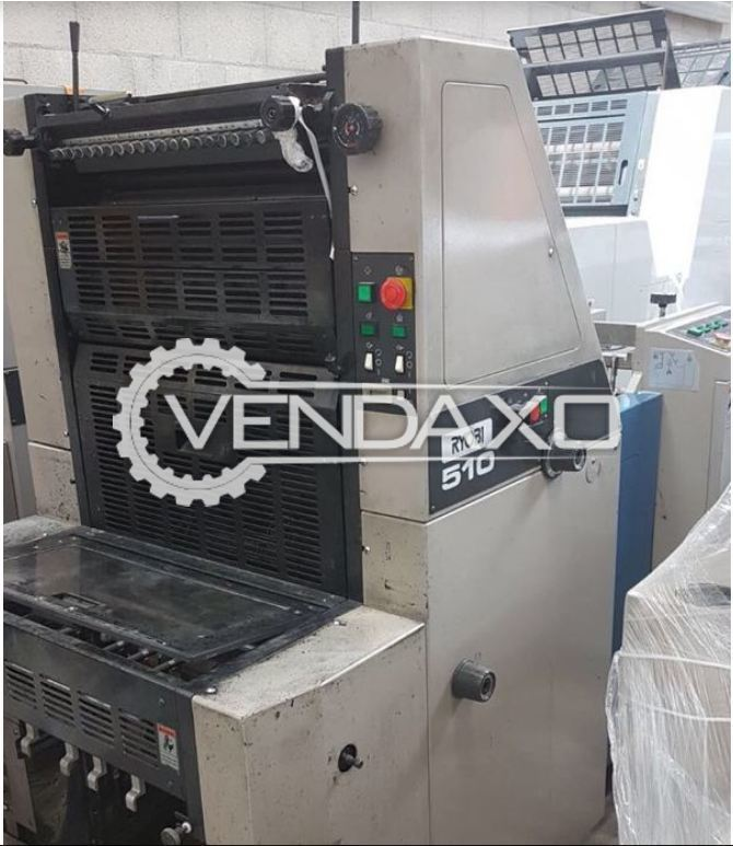 RYOBI 510 Offset Printing Machine - 15 x 20 Inch , Single Color