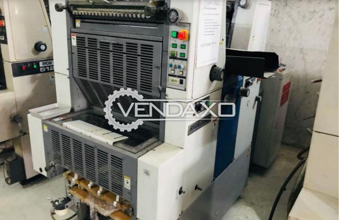 RYOBI 512H Offset Printing Machine - 15 x 20 Inch , 2 Color