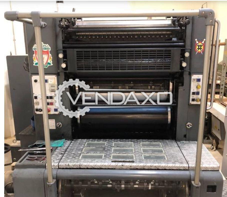 HEIDELBERG SORM Printing Machine - 20 x 29 Inch
