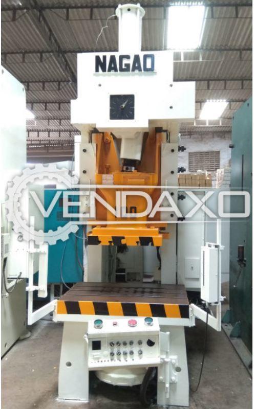 NAGAO NCP-100C 'C' Frame Press - 100 Ton