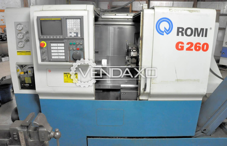 ROMI G260 CNC Turning Center