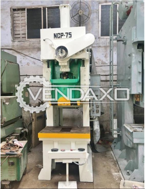 NAGAO NCP 75 'C' Frame Press - 75 Ton