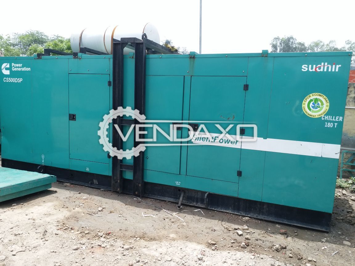 CUMMINS C500D5P Diesel Generator - 500 KVA