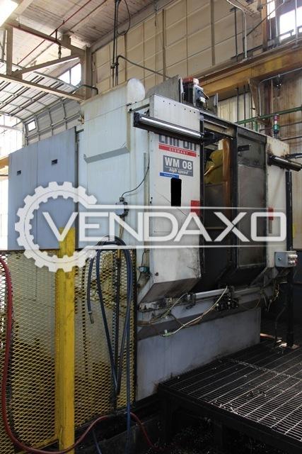 CHIRON WM08 High Speed CNC Vertical Machining Center