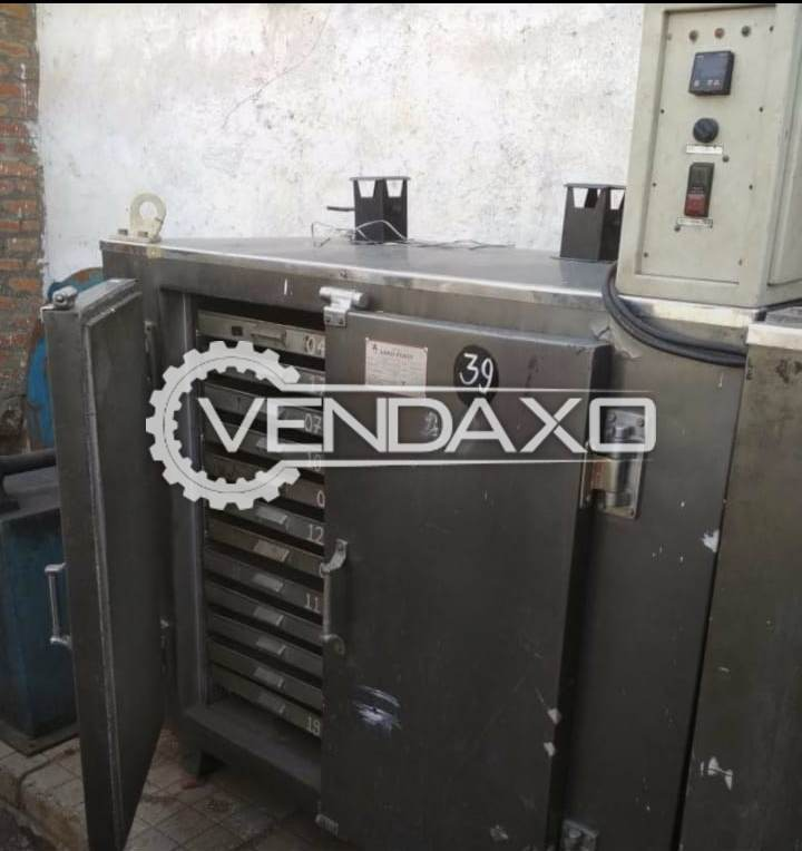 Electrical Tray Dryer - 24 Trays